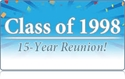 CCHS Class of 1998 to Hold 15 Year Reunion