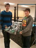 Vaniglia and Kiddy Qualify for Robotics State