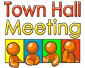 Town Hall Meeting Set for April 17th