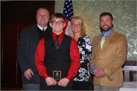 CCHS Student and Teacher Recognized By  Kids Voting Kentucky