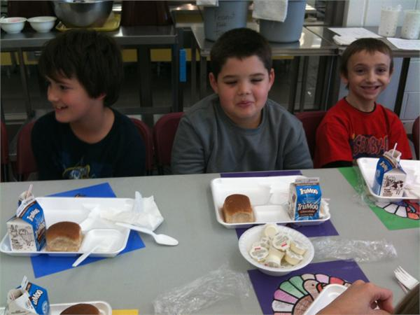 Mrs. Gesenhues' Class at the Family Feast