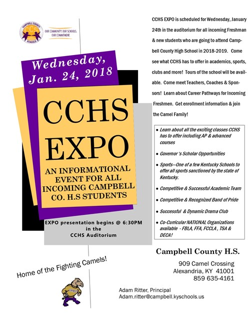 CCHS EXPO