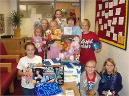 Service Learning Toys for Soldiers